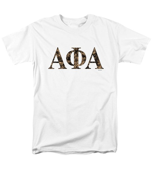Alpha Phi Alpha - White Men's T-Shirt  (Regular Fit) by Stephen Younts