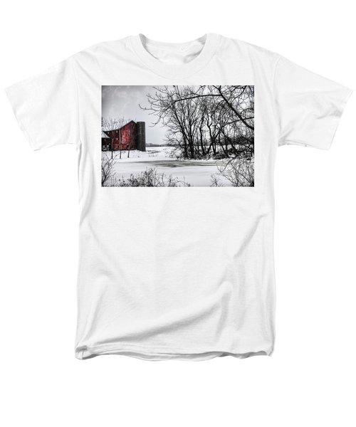 Alpine Barn Michigan Men's T-Shirt  (Regular Fit) by Evie Carrier