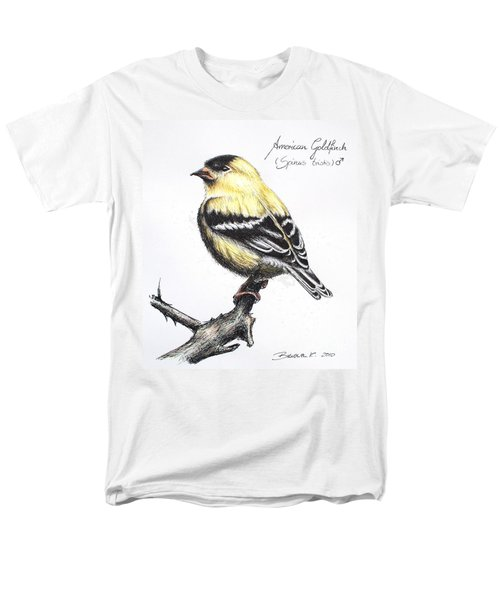 American Goldfinch Men's T-Shirt  (Regular Fit) by Katharina Filus