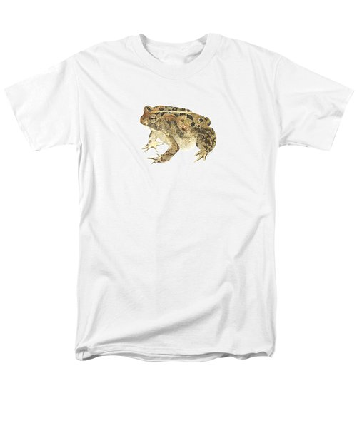 American Toad Men's T-Shirt  (Regular Fit) by Cindy Hitchcock
