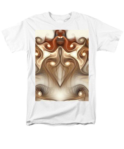 Men's T-Shirt  (Regular Fit) featuring the digital art Ancient Carving by Svetlana Nikolova
