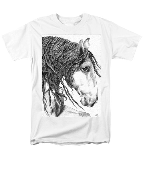 Andalusian Horse Men's T-Shirt  (Regular Fit) by Kate Black