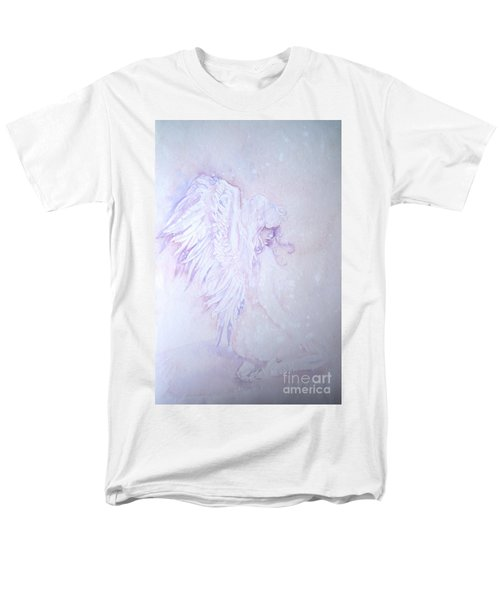 Men's T-Shirt  (Regular Fit) featuring the painting Angel by Sandra Phryce-Jones
