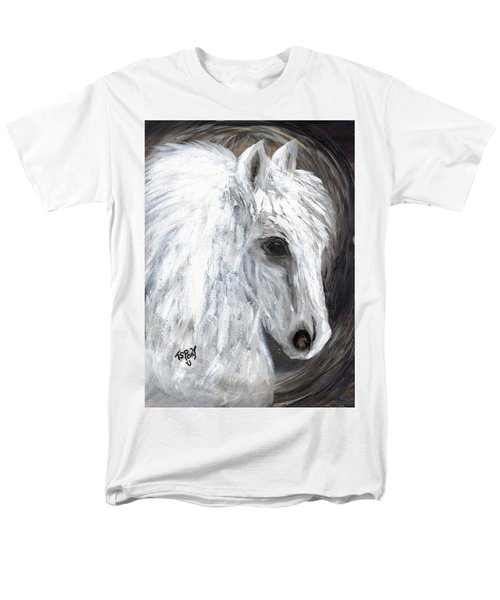 Men's T-Shirt  (Regular Fit) featuring the painting Angel  by Barbie Batson