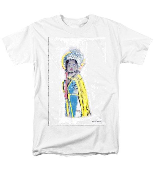 Another Time Monoprint Men's T-Shirt  (Regular Fit) by Verana Stark
