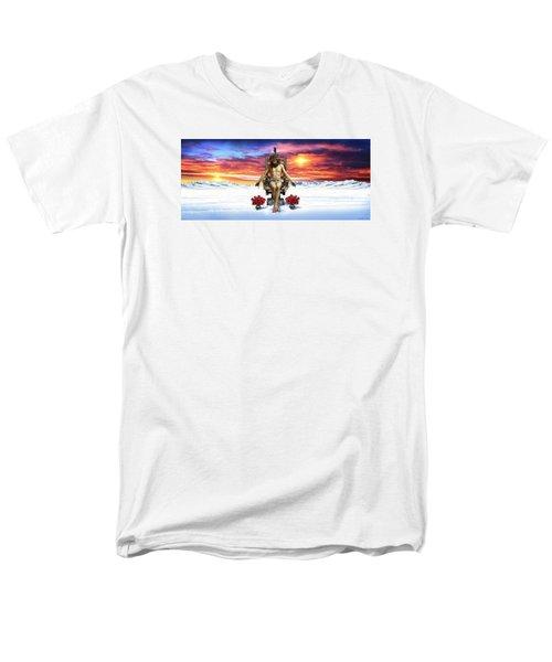Men's T-Shirt  (Regular Fit) featuring the digital art Antarctica by Scott Ross