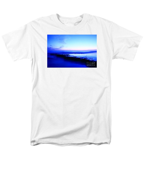 Men's T-Shirt  (Regular Fit) featuring the photograph Swamis Aqua Reef  by John F Tsumas