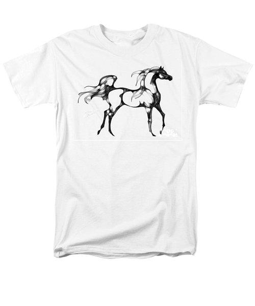 Arabian Horse Overlook Men's T-Shirt  (Regular Fit) by Stacey Mayer