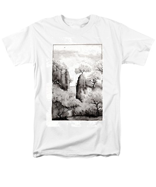 Arbres Separes Men's T-Shirt  (Regular Fit) by Marc Philippe Joly