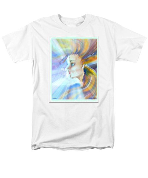Men's T-Shirt  (Regular Fit) featuring the painting Artemis by Leanne Seymour