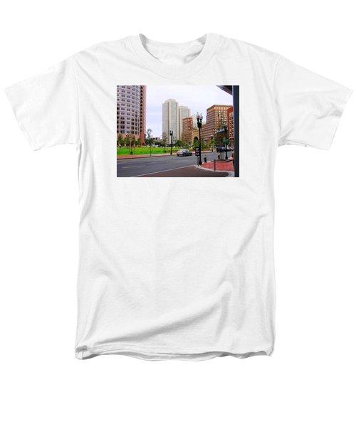 Atlantic Avenue Men's T-Shirt  (Regular Fit) by Oleg Zavarzin