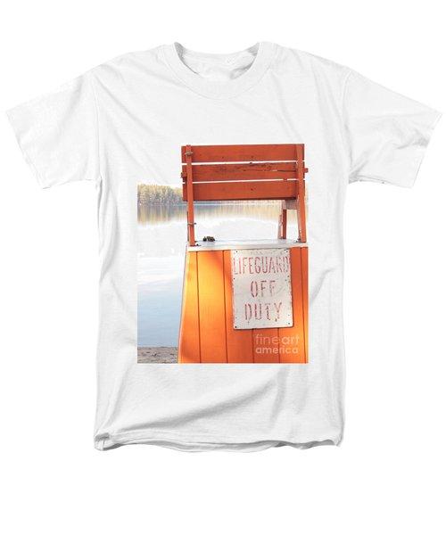 Autumn At White Lake Men's T-Shirt  (Regular Fit) by Barbara Bardzik