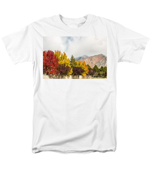 Autumn In The City Men's T-Shirt  (Regular Fit) by Sue Smith