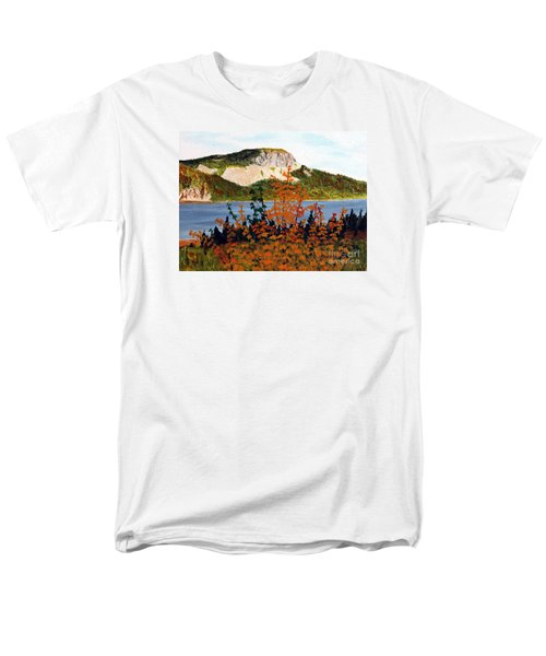 Autumn Sunset On The Hills Men's T-Shirt  (Regular Fit) by Barbara Griffin