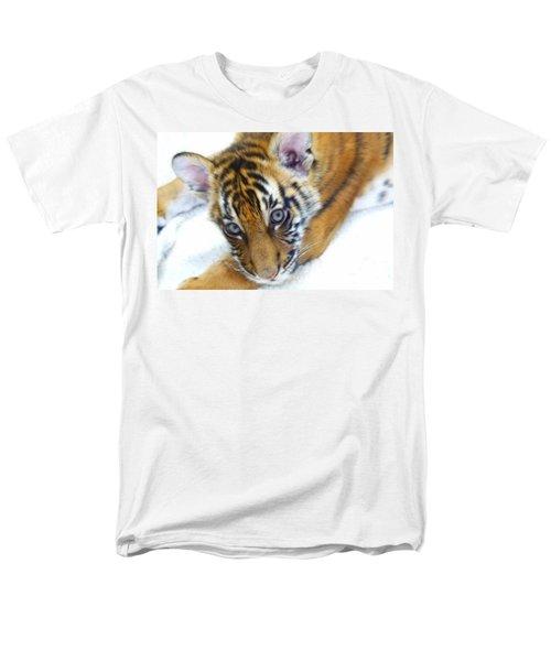 Baby Tiger Men's T-Shirt  (Regular Fit) by Steve McKinzie