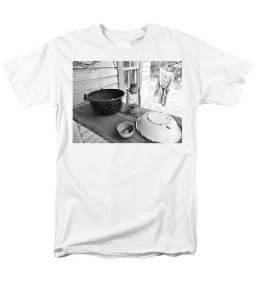 Back In Time B - W Men's T-Shirt  (Regular Fit) by D Hackett