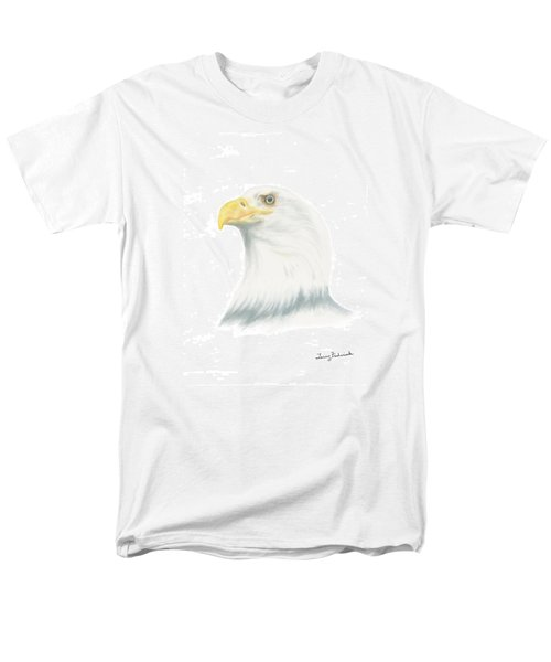 Bald Eagle Men's T-Shirt  (Regular Fit) by Terry Frederick