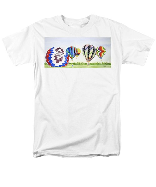 Men's T-Shirt  (Regular Fit) featuring the painting Balloons by Carol Flagg
