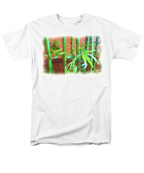 Bamboo #1 Men's T-Shirt  (Regular Fit) by Luther Fine Art