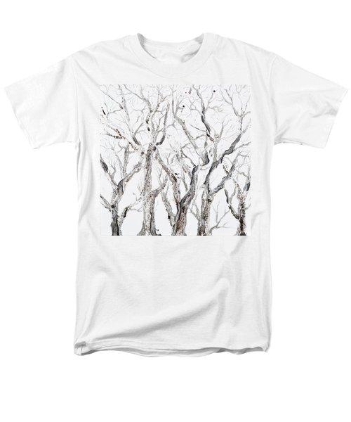 Bare Branches Men's T-Shirt  (Regular Fit) by Regina Valluzzi