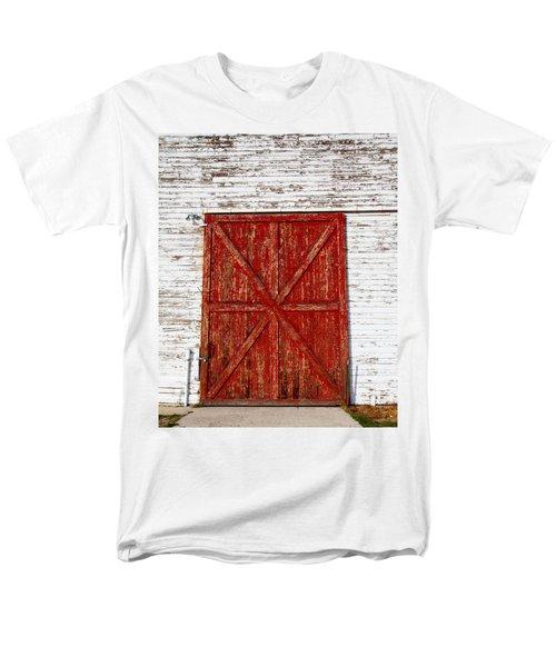 Barn Door Men's T-Shirt  (Regular Fit) by Fran Riley