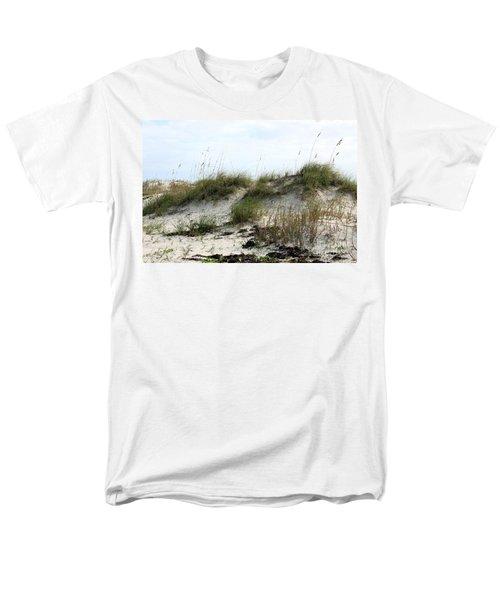 Men's T-Shirt  (Regular Fit) featuring the photograph Beach Dune by Chris Thomas