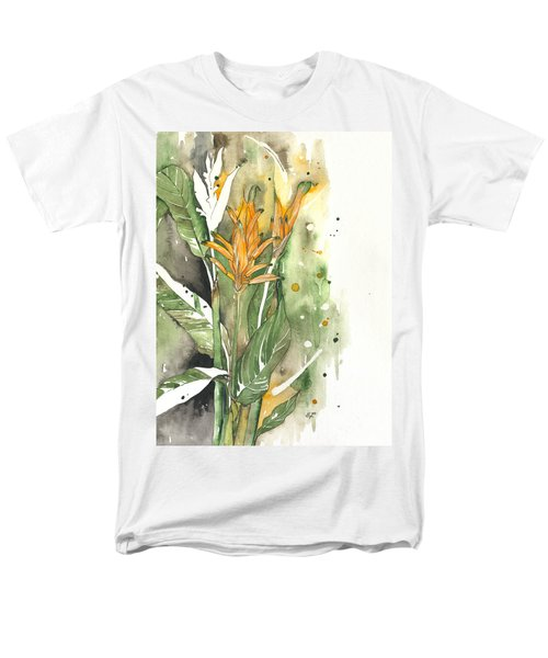 Bird Of Paradise 08 Elena Yakubovich  Men's T-Shirt  (Regular Fit) by Elena Yakubovich