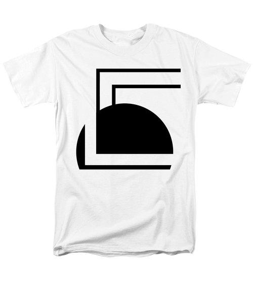 Black And White Art - 127 Men's T-Shirt  (Regular Fit) by Ely Arsha