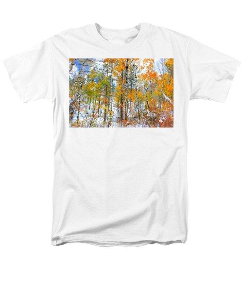 Men's T-Shirt  (Regular Fit) featuring the photograph Black Hills Veil  by Clarice  Lakota