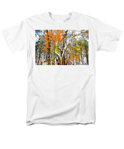 Men's T-Shirt  (Regular Fit) featuring the photograph Black Hills Entanglement by Clarice  Lakota