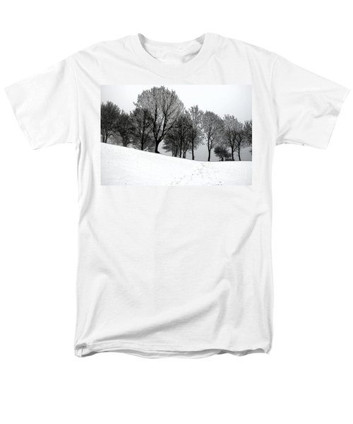 Men's T-Shirt  (Regular Fit) featuring the photograph Black Trees by Randi Grace Nilsberg
