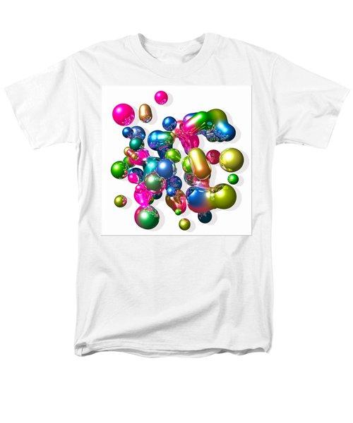 Men's T-Shirt  (Regular Fit) featuring the digital art Blobs Of Fun... by Tim Fillingim