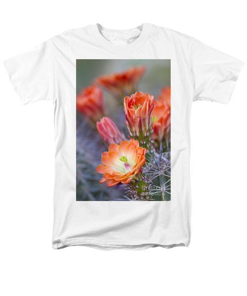 Men's T-Shirt  (Regular Fit) featuring the photograph Bloom In Orange by Bryan Keil