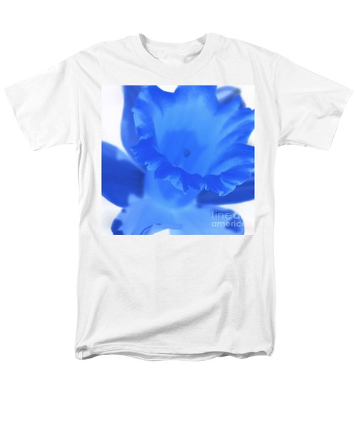 Men's T-Shirt  (Regular Fit) featuring the photograph Blue Daffodil by Andy Prendy