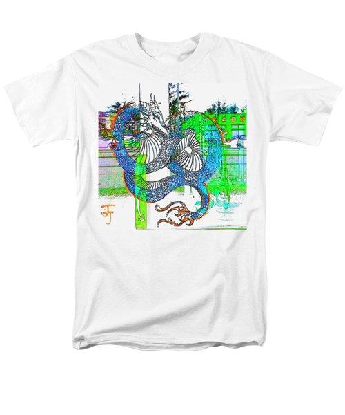 Blue Dragon Men's T-Shirt  (Regular Fit)