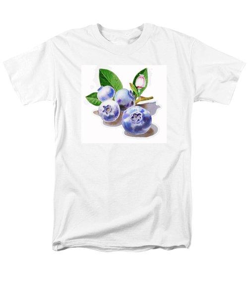Artz Vitamins The Blueberries Men's T-Shirt  (Regular Fit) by Irina Sztukowski