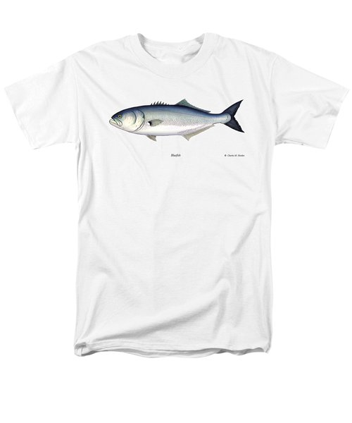 Bluefish Men's T-Shirt  (Regular Fit) by Charles Harden