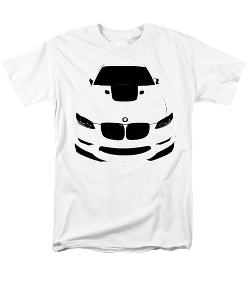 Bmw White Men's T-Shirt  (Regular Fit) by J Anthony