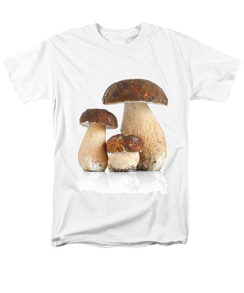 Men's T-Shirt  (Regular Fit) featuring the photograph Boletus Edulis Var. Aereus by Antonio Scarpi