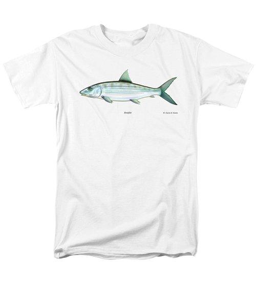 Bonefish Men's T-Shirt  (Regular Fit) by Charles Harden