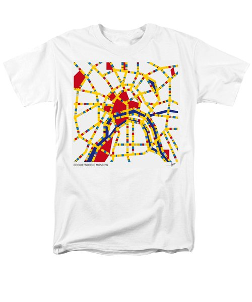 Boogie Woogie Moscow Men's T-Shirt  (Regular Fit) by Chungkong Art