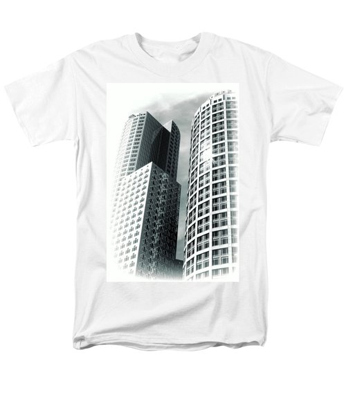 Boston Architecture Men's T-Shirt  (Regular Fit) by Fred Larson