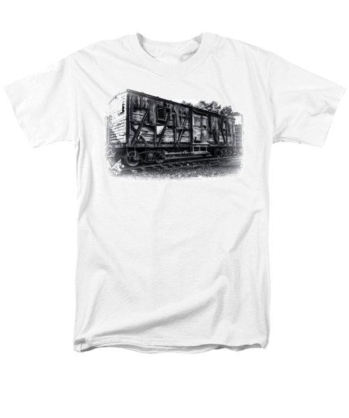 Box Car In High Key Hdr Men's T-Shirt  (Regular Fit)