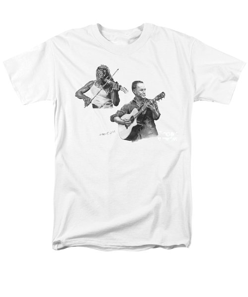Men's T-Shirt  (Regular Fit) featuring the drawing Boyd And Dave by Marianne NANA Betts
