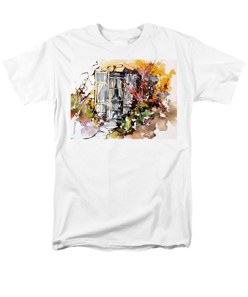 Men's T-Shirt  (Regular Fit) featuring the painting Brambles by Rae Andrews