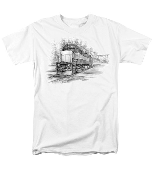 Brecksville Station - Cuyahoga Valley National Park Men's T-Shirt  (Regular Fit) by Kelli Swan