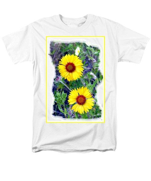 Brown- Eyed Susans Men's T-Shirt  (Regular Fit)