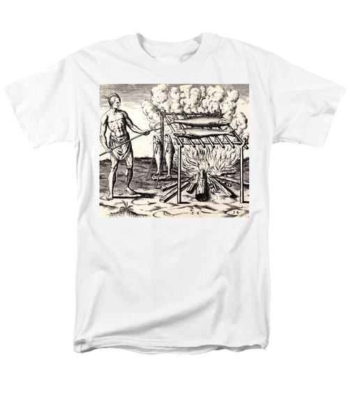 Broylinge Their Fish Over The Flame Men's T-Shirt  (Regular Fit) by Peter Gumaer Ogden