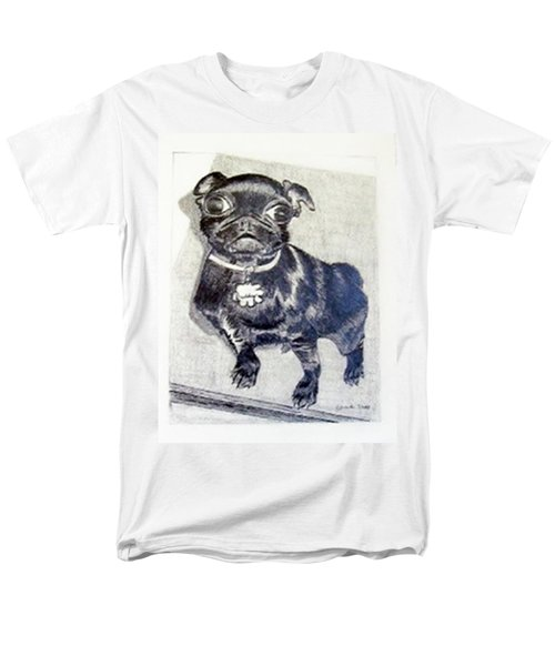 Men's T-Shirt  (Regular Fit) featuring the drawing Buddy by Jamie Frier