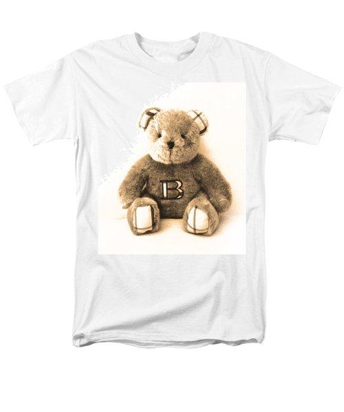 Burberry Bear Men's T-Shirt  (Regular Fit) by Gina Dsgn